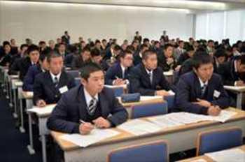 意思疎通の重要性伝授 栃木県高野連リーダー研修会