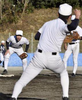 明徳野球の技術論(3)守る