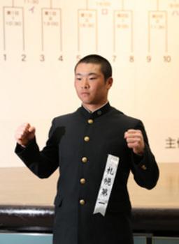 札幌第一 初戦は健大高崎 21日第3試合