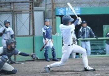 静岡・小柳、高校初HR 近大付(大阪)と練習試合