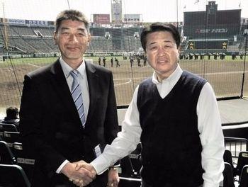 センバツ 中村(高知)・横山監督と前橋・荒井監督が対談