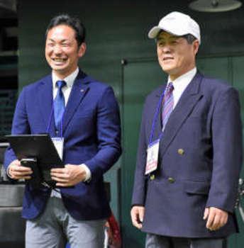 健大高崎 甲子園で師弟再会 沼田高の元部長と元選手
