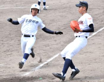 高取国際競り勝つ 春季大会奈良県予選