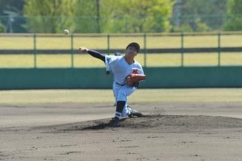 啓新の先発右腕好投、三国に完勝 春季福井県大会