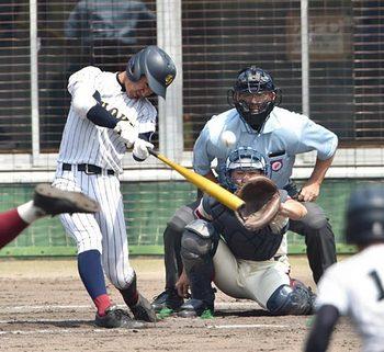 決勝は鳥取城北―米子東 春季鳥取県高校野球
