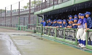 全試合が「雨天順延」…14日に7試合 春季福島県大会