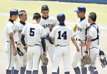 福島東・鈴木が力投「得たもの大きい」 春季福島県大会