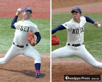 東北大会 八戸学院光星、青森県南育ちの2投手がエース争い