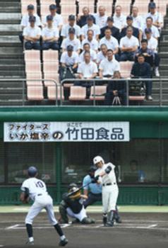 甲子園懸け熱戦始まる 夏の南北海道函館・室蘭支部予選