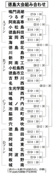 夏の徳島大会、対戦校決まる 7月8日開幕