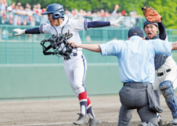 大谷室蘭打線、粘り発揮できず 南北海道大会逃す