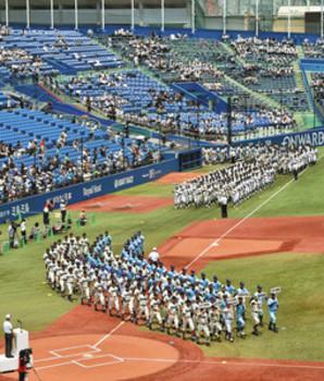 球児の熱戦火ぶた、262チーム 夏の東西東京大会
