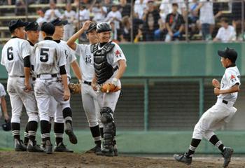 福知山、大谷が初戦突破 夏の京都大会