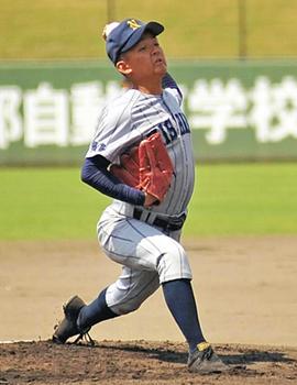福島西が原町に7回コールド エース・菅野快投、2安打無失点
