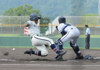 科学技術、丹南破り2回戦進出 夏の福井大会