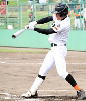 益田東快勝7回コールド 夏の高校野球