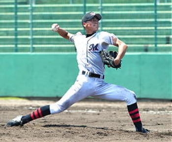 松江高専1失点快勝 夏の高校野球