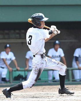8強出そろう 全国高校野球鳥取大会 第6日