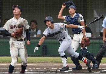 名門救う一振り、横浜・増田が同点弾 神奈川大会第12日