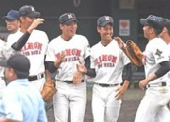 日大三島、1点差で逃げ切る 静岡大会準々決勝