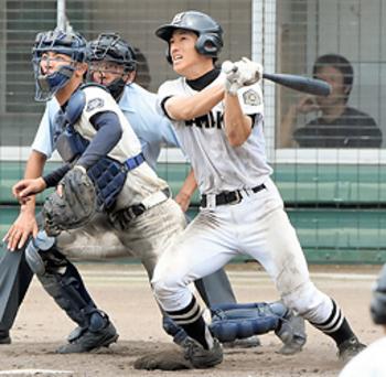 浜田9回猛攻で逆転 夏の島根大会