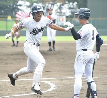 夏の三重大会 三重、津田学園が決勝へ
