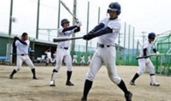 徳島・鳴門渦潮、甲子園へ始動 打撃練習中心に汗