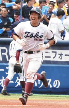 流れ戻す満塁弾、けが越え振り抜く 桐光学園・桂川弘貴選手