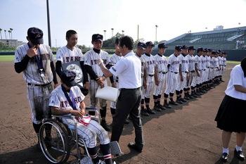 徳島大会 決勝 最後のミーティング