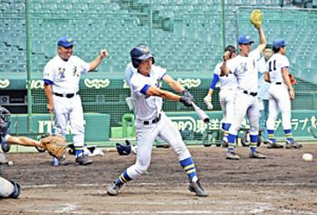 唯一の2年生・矢吹「大胆な打撃を」 福島大会で打率・4割超