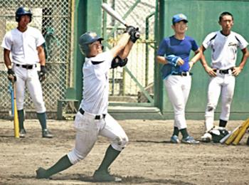 佐藤、好調アピール「バット軽く感じる」 山陽エース想定練習