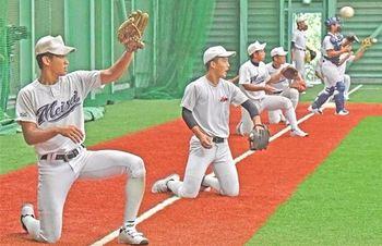 藤枝明誠 初戦へ最終調整