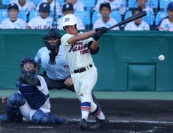 【速報】神戸国際大付、夏の甲子園初勝利