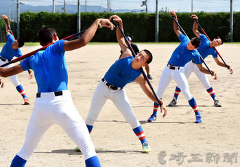 花咲徳栄、16強懸け打撃練習 15日に日本航空石川戦