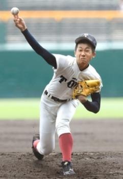 大阪桐蔭 徳山、被安打12で粘りの完投