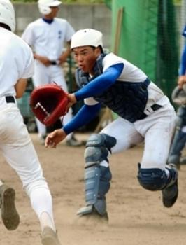 神戸国際大付 4番捕手の猪田「ここぞで決める」