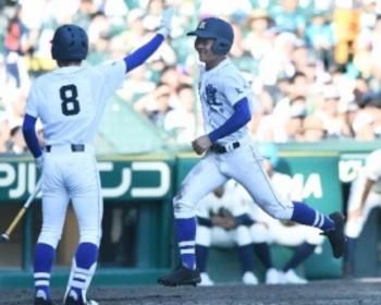 野球断念の父に届けた、土壇場一打 明豊・松谷選手