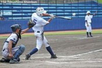 徳島大会初のタイブレーク 投球回数制限も