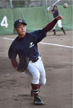 神奈川 桐光学園の左腕冨田冬馬 「松井」超えに意欲
