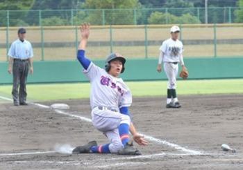羽水、足羽にサヨナラ勝ち2回戦へ 秋季福井県大会