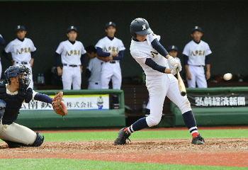 八高専が初の8強入り 秋季青森県大会