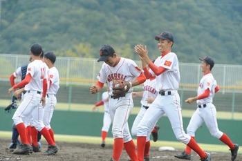 富山国際大付属が中越逆転し8強 秋季北信越地区高校野球大会