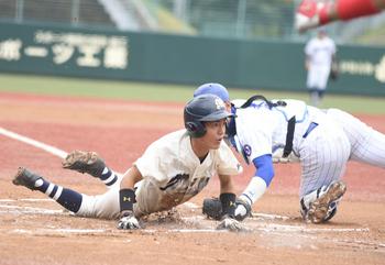 東海地区大学野球秋季選手権大会 三重大、朝日大に惜敗