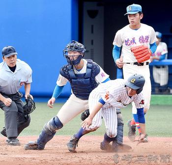 秋季関東大会 花咲徳栄、逆転負け 選抜出場は絶望的