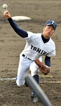 秋季九州大会 富島8強