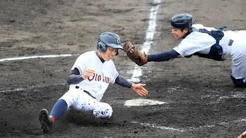 初出場の乙訓、コールドで神港学園下す 秋季近畿高校野球