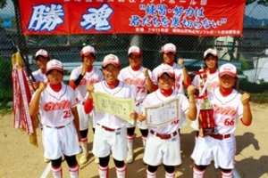 兵庫の9人全国狙う 福知山成美高ソフトボール部