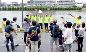 全国129チーム参加、戸田でレガッタ交流大会 熱戦展開