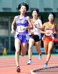埼玉県新人高校陸上 女子3000、1500で大宮の大塚が2冠達成