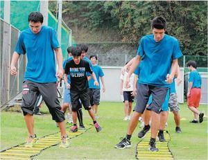 15高等部一堂に 初の大分県特別支援学校スポーツ大会